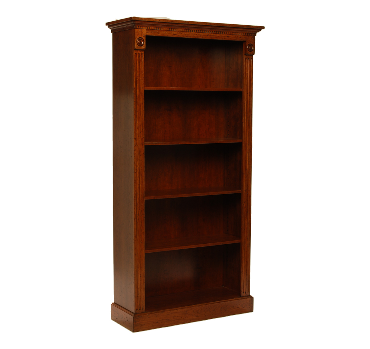 Tall Cherry Bookcase