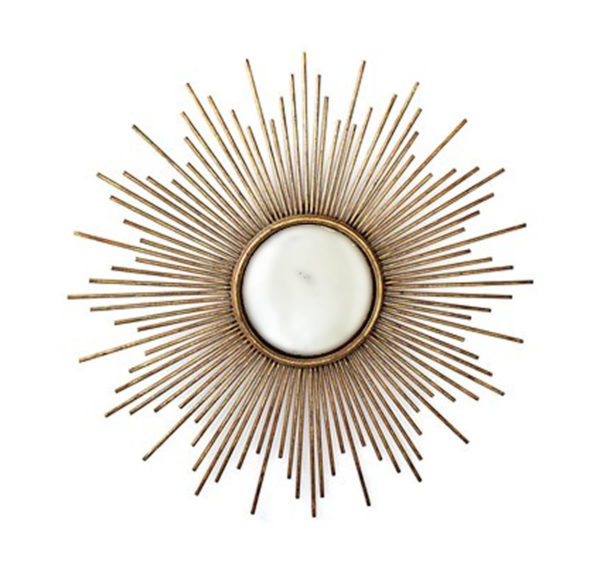 Wire starburst mirror from the Kellogg Collection | @kelloggfurn