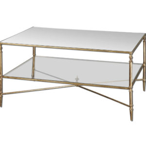 Henzler two tier cocktail table from the Kellogg Collection | @kelloggfurn