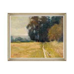 Framed summer scene art at the Kellogg Collection | @kelloggfurn