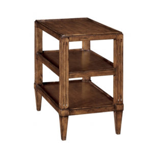 Three-tier Swedish end table from the Kellogg Collection | @kelloggfurn