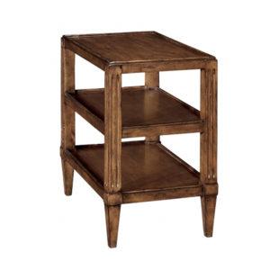 Three-tier Swedish end table from the Kellogg Collection | @kelloggfurn