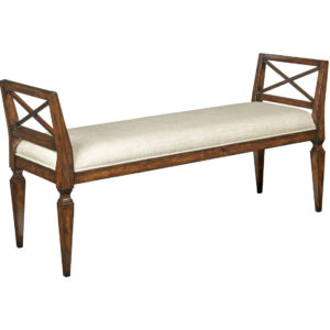 Neo-Classic bench from the Kellogg Collection | @kelloggfurn