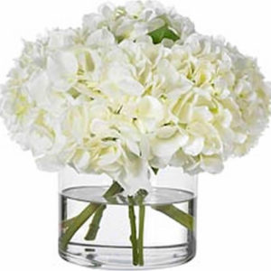 White Hydrangea Floral from the Kellogg Collection | @kelloggfurn