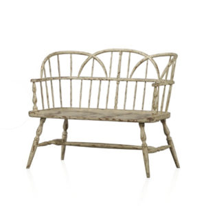 Hoop bench from the Kellogg Collection | @kelloggfurn