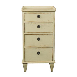 Gustavian nightstand from @kelloggfurn