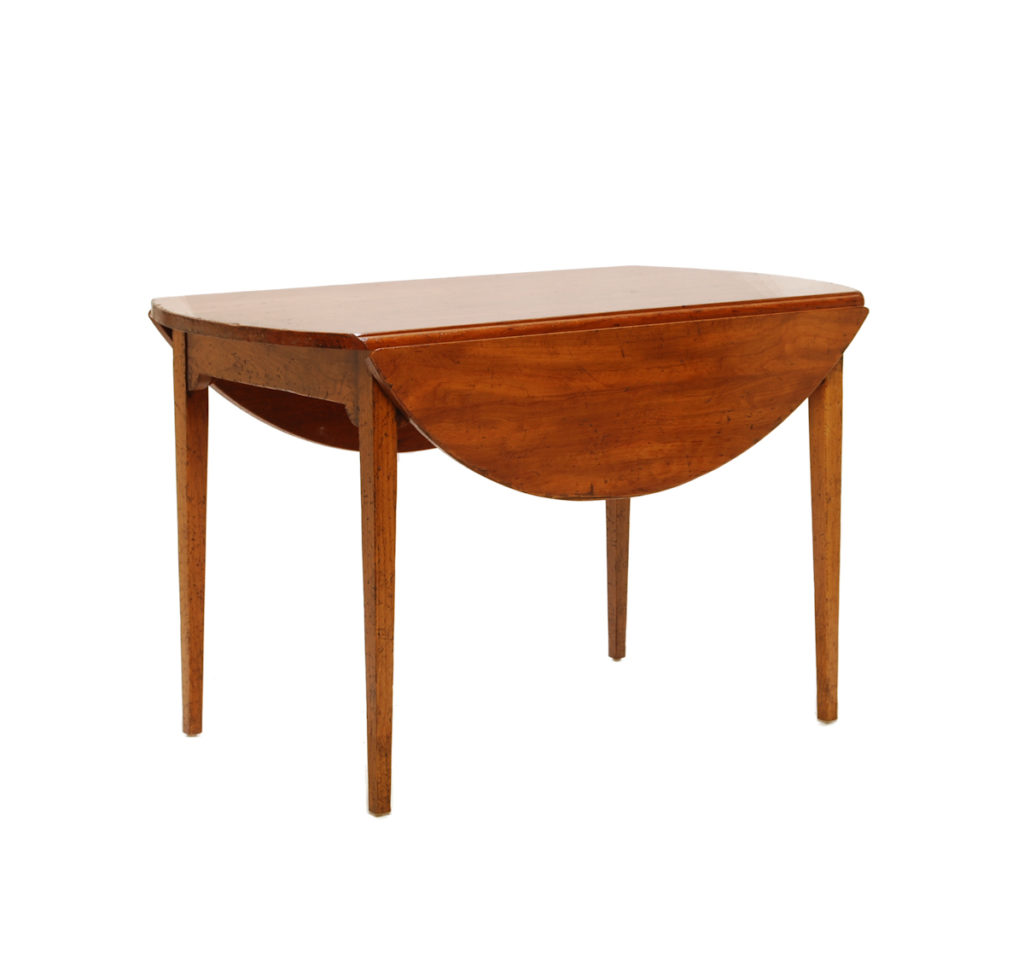 Cherry drop leaf dining table