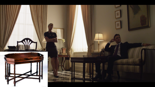 Kellogg Collection on House of Cards