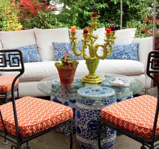 Garden seat set