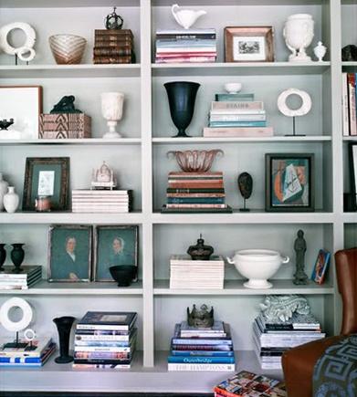 pinterest accessorized bookcase