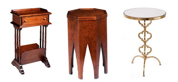 Here Are Three Tables That Are Very Different From Each Other, And You Can  See How Each One Would Add Its Own Dramatic Flair To A Room.