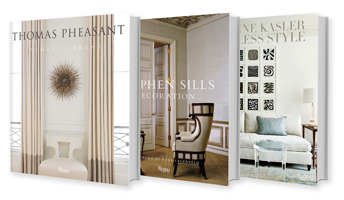 Well Read 3 New Decorating Books On Design Legends