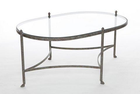 SAL15KELOV-SB  42X28X18H COFFEE TABLE