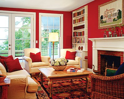 Sarah Blog Red Living Room Resized 600