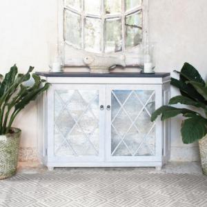 Cleo Cement indoor/ outdoor rug from @kelloggfurn