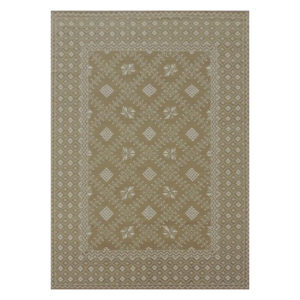 Tangier brown dhurrie rug from @kelloggfurn