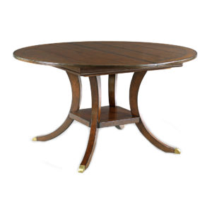 English pedestal table from @kelloggfurn