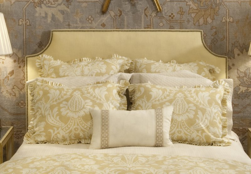 bed and headboard kellogg collection