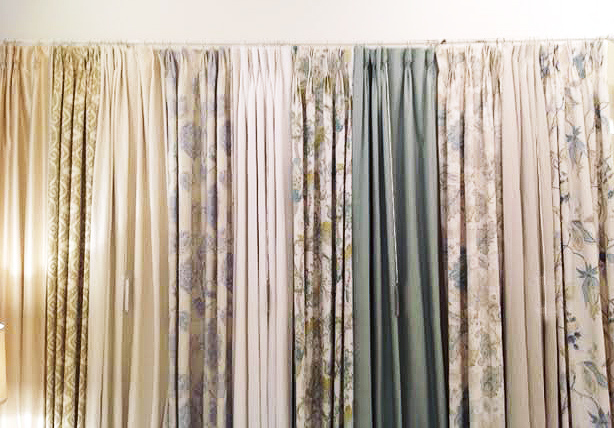 A small sample of our ready-to-use curtains.