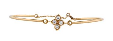 Cartier quatrefoil bracelet.  Image via Cartier.