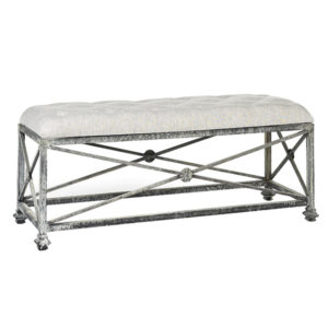 Medallion Bench from @kelloggfurn