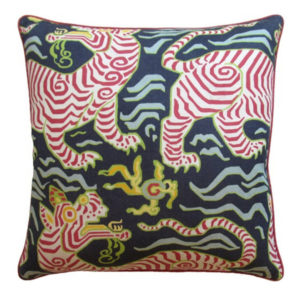 Tibet Navy Pillow from @kelloggfurn