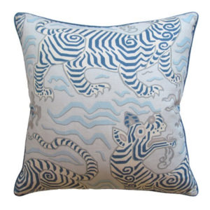 Tibet Blue Pillow from @kelloggfurn