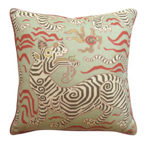 Tibet Green Pillow from @kelloggfurn