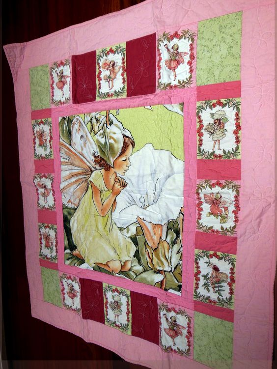 A quilt for a child by the Quilting Angels