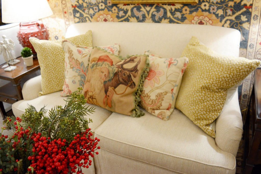 Vintage style pillows $312 each