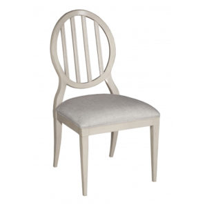 Oval side chair from @kelloggfurn