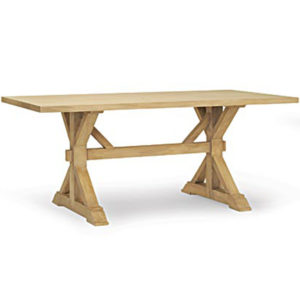 Malibu Trestle Dining Table from @kelloggfurn