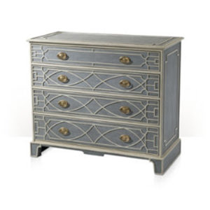 Chinese Chippendale chest from @kelloggfurn